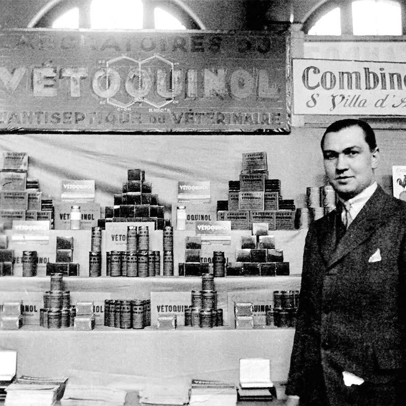Joseph Frechin (1935) Founder of Vetoquinol