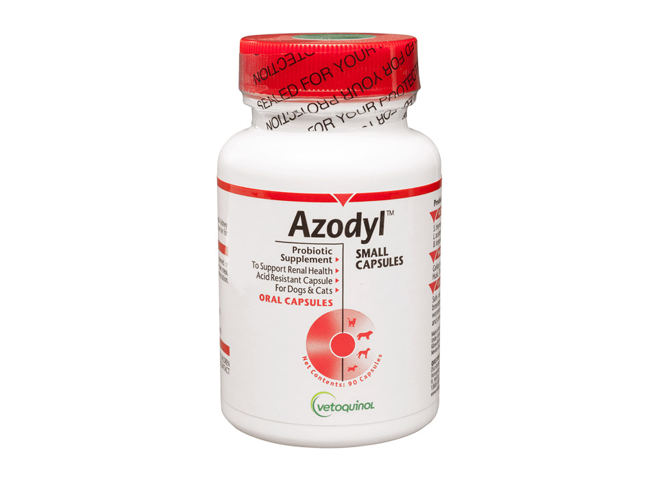 Azodyl Small Caps for Cats and Dogs