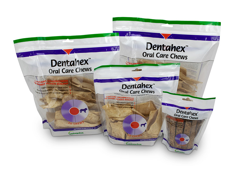 Dentahex Oral Care Chews for Dogs