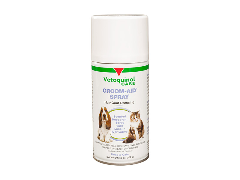 Groom-Aid Spray for Dogs and Cats