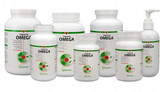 Triglyceride Omega Supplement for Dogs and Cats